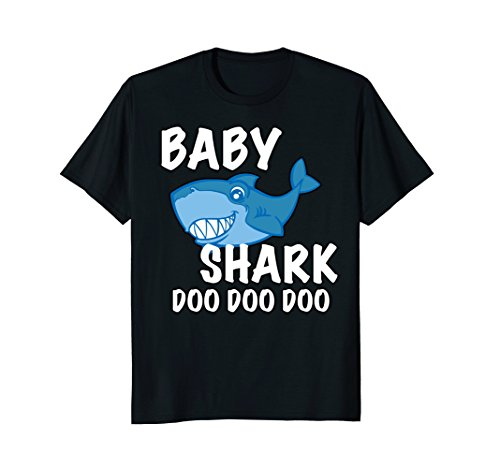 Baby Shark T-Shirt (Womens T-shirt Baby)