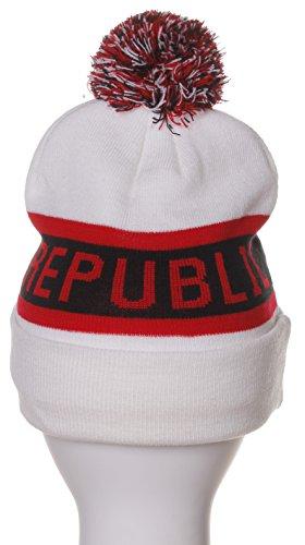 a2fe05a3669 California Republic Bear Cuff Pom Pom Beanie Knit Hat Cap - Many ...