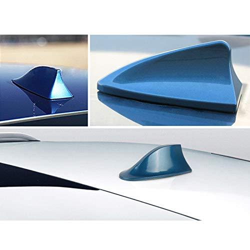 15cm eine Hochwertige Antenne f/ür den Radioempfang vom AM /& FM Empfang I45 Universal Auto Shark Hai Antenne Dachantenne Haifisch Hochglanz in Blau Farbe Blau Kabell/änge ca Gewicht 55g
