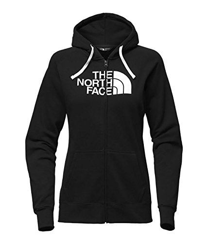 The North Face Half Dome Full Zip Hoodie - Women's (TNF Black/Tnf White, (Forever Womens Zip Hoodie)
