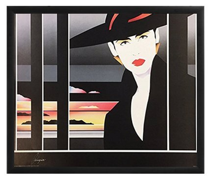 Era Satin Hat - Vintage 80s Patrick Nagel Era Art Poster By Artist Georgia (16
