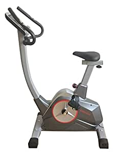 Endurance Programmable Exercise Bike with Inbuilt Programs, Smooth and Silent Drivetrain and Heavy Duty 10kg Flywheel. to Most Areas