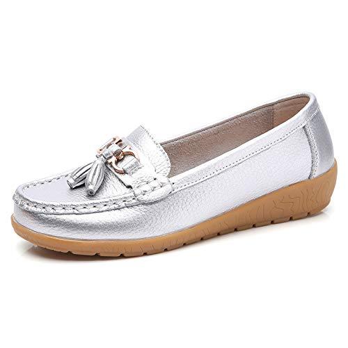 de Boca de Parte de con Zapatos Zapatos Zapatos Inferior la la Planos FLYRCX Trabajo Embarazadas de Las de J Las Antideslizantes Manera los Baja cómodos Suave Casual señoras Zapatos Mujeres WHvZ8ZqOn