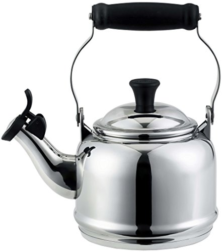 Le Creuset 1.2 Quart Stainless Steel Demi Tea - Kettle Demi