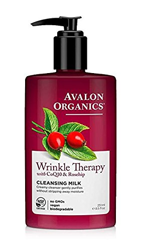 Avalon Organics CoQ10 Facial Cleansing Milk 8.50 oz (Pack of 2) G9 Skin IT CLEAN Oil Cleansing Stick