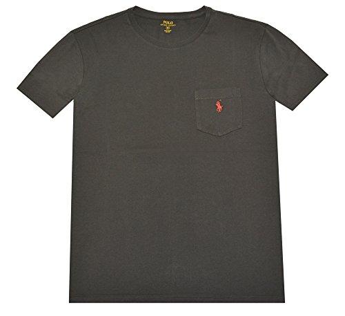 Polo Ralph Lauren Mens Cotton Pocket T-Shirt Black L