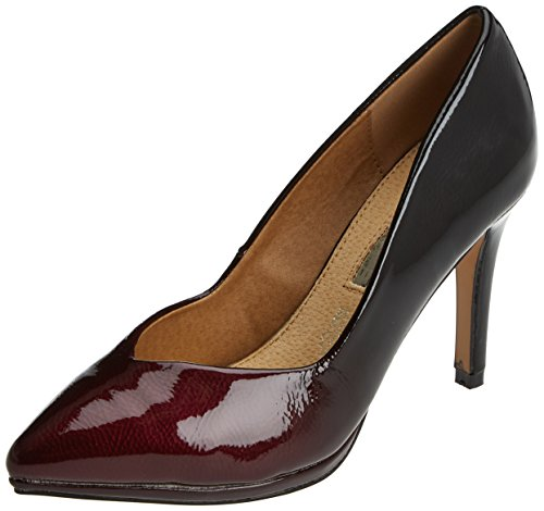 Solan Rojo Tacón Maria Burdeos Mare Para De Mujer Zapatos shade C4FxOfSxwn