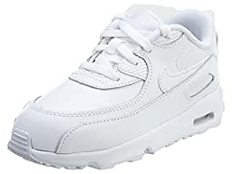 Toddler Nike Air Max 90 LTR White/White (8 US Toddler)