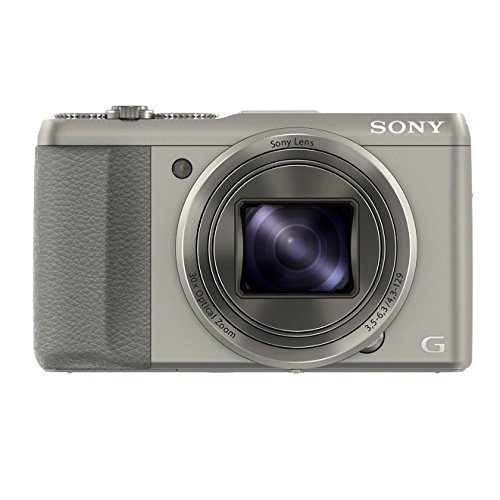 Sony DSC-HX50V/S 20.4MP Digital Camera with 3-Inch LCD Screen (Silver)