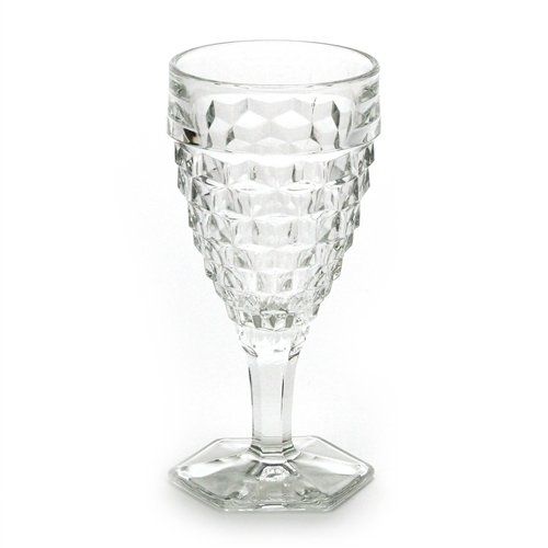 American by Fostoria, Glass Water Goblet