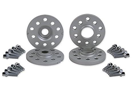 Spulen rueda espaciador y Kit de tornillo, 10 y 15 mm con pernos del asiento cónico: Amazon.es: Coche y moto