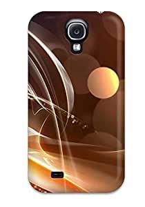 Anti-scratch And Shatterproof Digital Art Phone Case For Galaxy S4/ High Quality Tpu Case