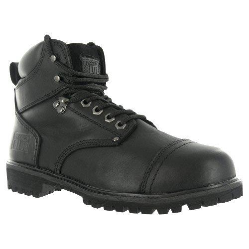 Rugged Blue RB2 1800 Leather Steel Toe Waterproof Men's Work