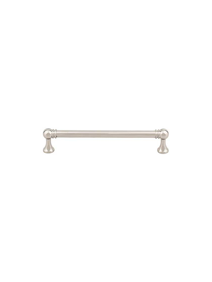 Top Knobs TK804PN Serene Collection 6-5/16'' Kara Pull, Polished Nickel by Top Knobs