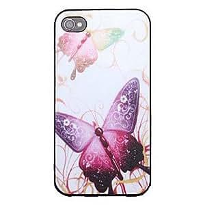 Volando mariposa patrón nuevo caso para el iPhone 4/4S