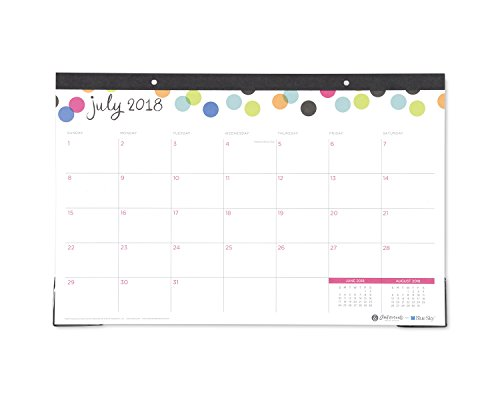 ky 2018-2019 Academic Year Monthly Desk Pad Calendar, 17