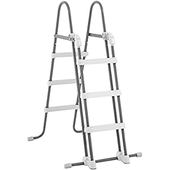 Amazon Com Intex Deluxe Pool Ladder With Removable Steps
