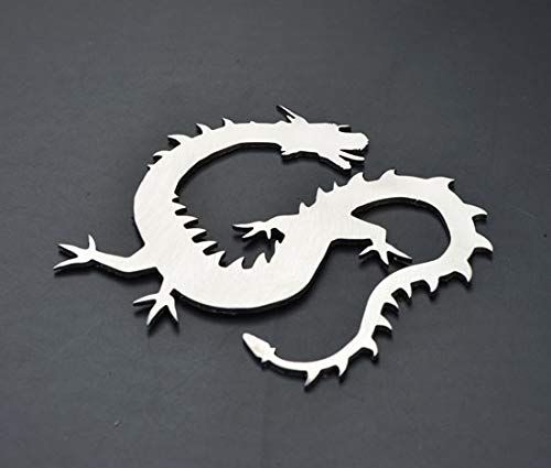 Dragon Stainless Metal Car Truck Motorcycle Badge Emblem