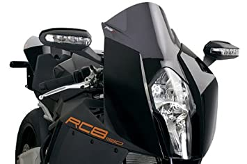 amazon puig 4944f racing screen dark smoke ktm rc8 09 14
