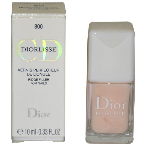 Christian Dior Lisse Ridge Filler For Nails, No. 800 Snow Pink, 0.33 Ounce by Dior