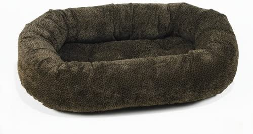 Bowsers Donut Bed, X-Small, Chocolate Bones
