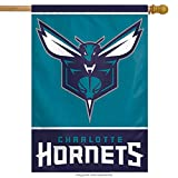 WinCraft NBA Charlotte Hornets Vertical Flag, 27″ x 37″
