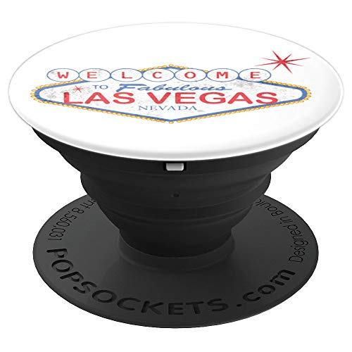 Welcome to Fabulous Las Vegas Novelty Souvenir - PopSockets Grip and Stand for Phones and - Novelties Souvenirs