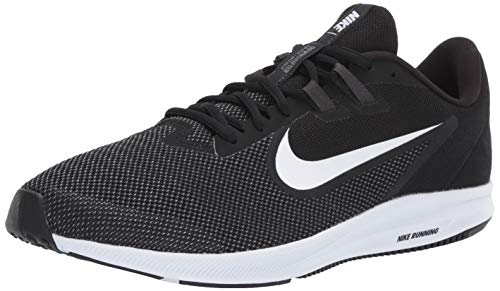 Nike Men's Downshifter 9 Running Shoe, black/white - anthracite - cool grey, 8 Regular US