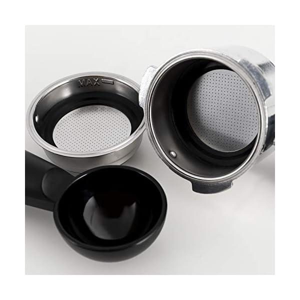 IKOHS THERA RETRO - Macchina del Caffè Express per caffè espresso e cappuccino, 1100 W, 15 bar, vaporizzatore regolabile… 7