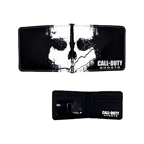 Call of Duty Game Gaming Mens Boys Comic Cartoon Wallet with Gift Box ()