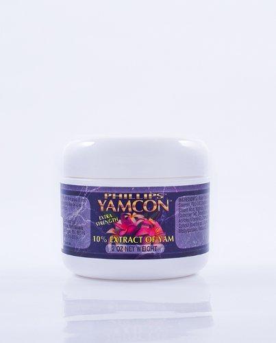Crème de progestérone bio-identique naturelle de Yamcon Extra Strength 10 % 2 Oz.