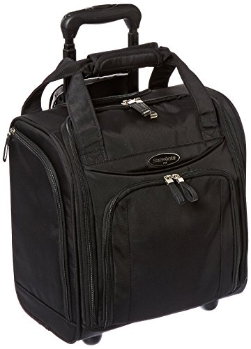 Samsonite Small Underseat Carry-On Luggage, Black, One ()