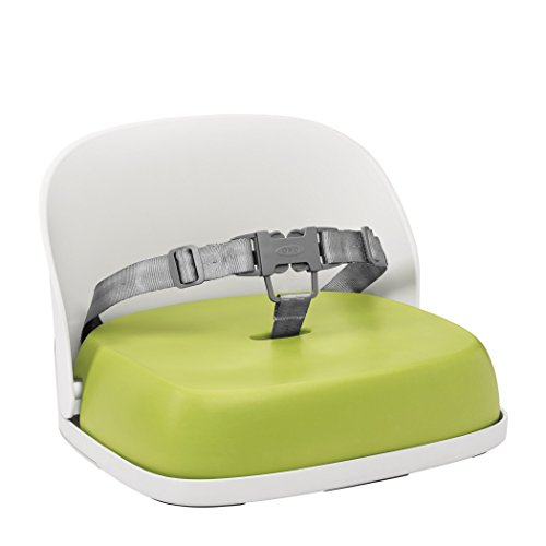 OXO Tot Perch Booster Seat with Straps, Green - Green Booster Chair