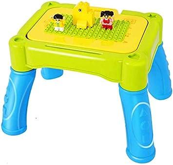 MU Puzzle juguetes de aprendizaje de tres-en-uno Dibujo Aprendizaje Juego de Mesa Niño Niña del estudio del juguete Tabla de múltiples funciones de la tabla de construcción,Verde,Tamaño libre: Amazon.es: Bricolaje y herramientas