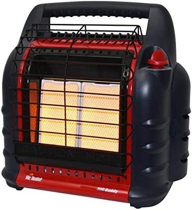 Mr. Heater F274800 MH18B, Portable Propane Heater,Red,Regular