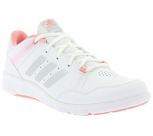 Adidas Niraya B33399, Zapatillas Mujer Blanco / Plata / Rosa