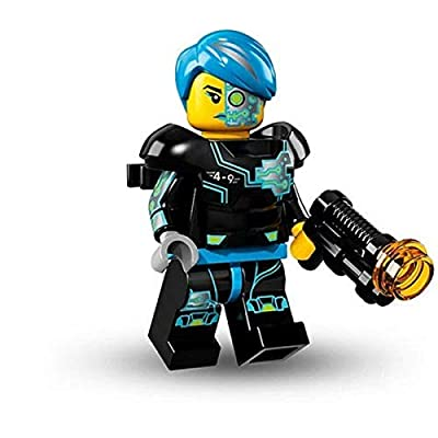 LEGO Series 16 Collectible Minifigures - Cyborg Female (71013): Toys & Games