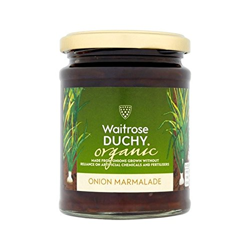 Duchy Waitrose Organic Onion Marmalade 340g - Pack of 2 by Duchy from Waitrose
