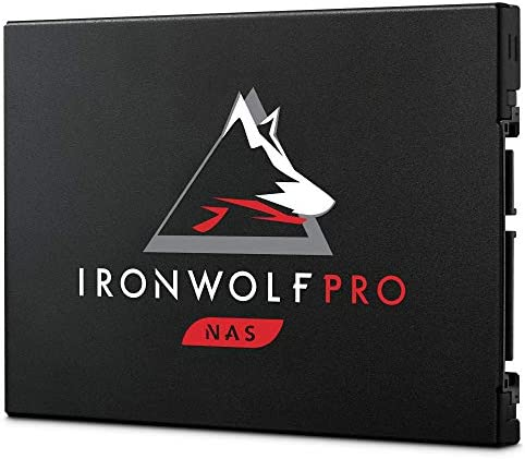 Seagate IronWolf Pro 125 SSD 240GB NAS Internal Solid State Drive - 2.5 Inch SATA 6Gb/s speeds as much as 545MB/s, 1 DWPD staying power and 24x7 efficiency for Creative Pro, and SMB (ZA240NX1A001)