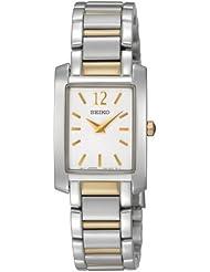 Seiko Womens SUJG25 Dress White Dial Watch