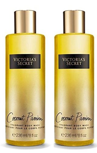 Victoria Secret Coconut Passion Fragrant Body Wash Bundle of 2