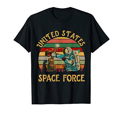 (united states space force Vintage T-shirt Gift)