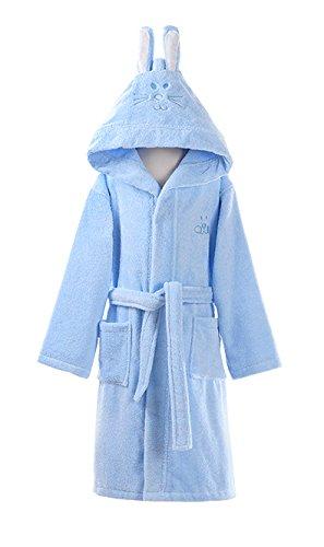Bubble Bath Halloween Costumes (Cartoon Rabbit Ear Bathrobe Nightgown Pyjamas Hotel Spa Dress Towel Plush Soft Cotton Kimono Sleepwear)