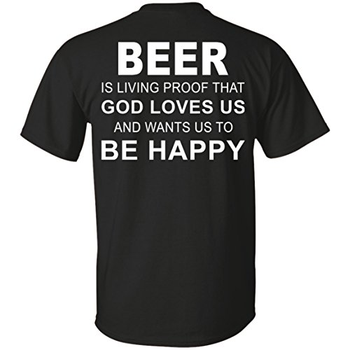 vinteena Beer Is Proof That God Loves Us and Wants Us To Be Happy Unisex Tshirt - Tee ()