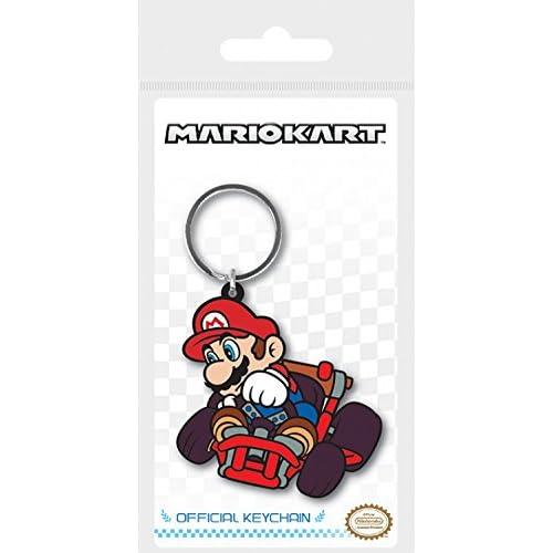 Super Mario Porte-Clés - Mario Kart, Mario Drift (6 x 4 cm)