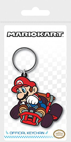 Super Mario - Mario Kart, Mario Drift Llavero (6 x 4cm ...