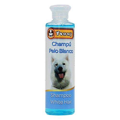 YOMMY® Champú Mascotas Shampoo Pets para Perros Gatos 250 mL con diferente efectos YM-1144(Champú Pelo Blanco)