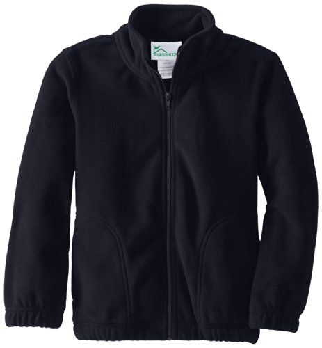 ex Polar Fleece Jacket, Dark Navy, Small (Navy Blue Fleece)