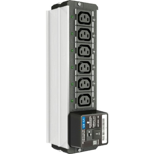 Liebert MPXBRM-NBBD6N31 MPX BRM Branch Monitoring - Power distribution unit ( rack-mountable ) - 6 output connector(s) - North America -