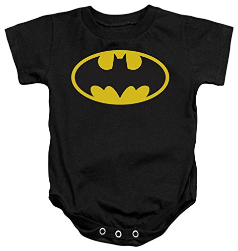 [Infant - Batman - Classic Logo 6 months] (Classic Batman Costumes)